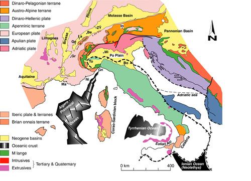 The geodynamic framework of the western Alps